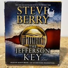 The Jefferson Key by Steve Berry 11 CD Unabridged Audiobook Free US Shipping