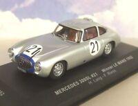 IXO 1/43 MERCEDES-BENZ 300SL #21 WINNER LE MANS 1952 H.LANG & F.REISS LM1952