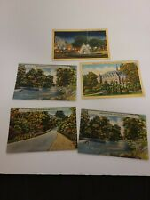 Lot Of 5 Vintage New York Postcards - Posted / Unposted rare