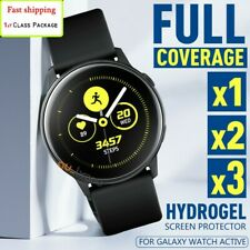SAMSUNG GALAXY WATCH ACTIVE 2 HYDROGEL or Soft Fiber Crystal Screen Protector
