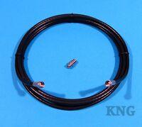 3m/6m/9m/12m/15m Satellite Cable F Plug Coaxial Lead + Extension Coupler Socket