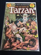Tarzan #222 Kubert Burroughs Very Fine+ VF+ (8.5) DC Comics 1973
