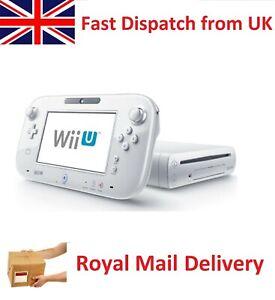 Nintendo Wii U Basic Set 8GB Handheld System - White WiiU (WUPSWAAB)