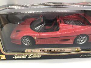 1/18 Maisto Special Edition 1995 Red Ferrari F50 Jm Part # 31822