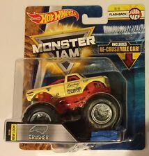 Flashback CAROLINA CRUSHER 2018  Hot Wheels Monster Jam Truck Re-crushable Car
