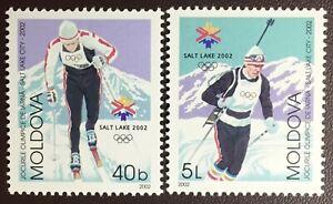 Moldova 2002 Winter Olympics MNH