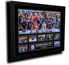 CHELSEA FC 2015 EPL WINNERS SIGNED LIMITED EDITION FRAMED MEMORABILIA
