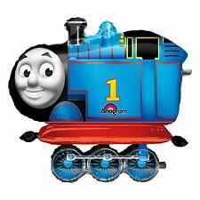 Large Thomas the Tank Engine and Friends AirWalker Foil Birthday Party Balloon