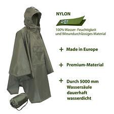 Lixada 3 in 1 Outdoor Regenmantel Poncho Markise Zelt Matte Jagd Wandern F9O2