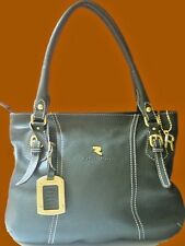 Robert Pietri Spain Olive Leather NEW Large Tote Bag