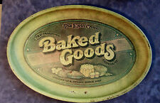 VINTAGE PENTRON BAKED GOODS METAL TRAY