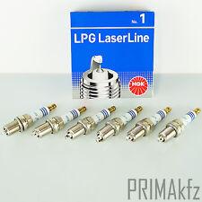 6x NGK LPG 1 Laserline Zündkerzen 1496 LPG / CNG fahrzeuge Audi Mercedes Citroen