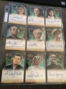 The Outer Limits Auto Cards - 9 In Total