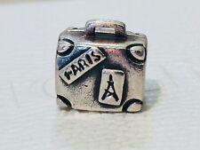 Authentic Pandora Suitcase Travel Holiday Charm Bead 790362 - Retired