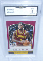 2012-13 Panini Basketball Kyrie Irving Rookie Card #227 GMA Graded Mint 9 NETS