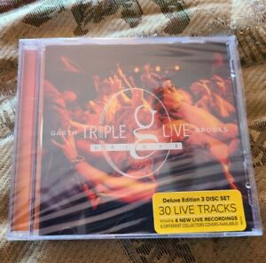 Garth Brooks Triple Live Deluxe Country Music 3 CDs Sealed The Barn Cover