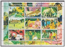 0795 Niger 1998 Schilders Painter Paul Gauguin S/S MNH