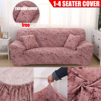 Universal 1/2/3/4 Seater Cover Sofa Stretch Protector Couch Anti-Skid  *