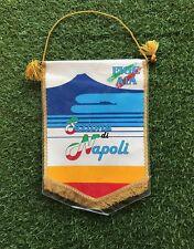 RARO Gagliardetto Pennant FIGC AIA SEZIONE NAPOLI Vintage Match Worn
