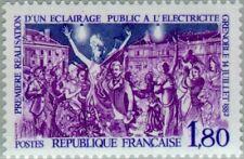 FRANCE - 1982 - Grenoble 1882 - First Implementation of Public Lighting - #1839
