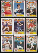 1987 Topps Glossy All-Star Set 1-22 Cal Ripken Jr Mike Schmidt Tony Gwynn Boggs