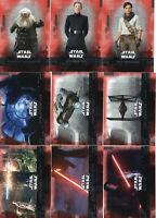 Topps Star Wars The Rise of Skywalker - RED Base Cards zum Aussuchen