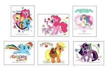 12 My Little Pony Temporary Tattoos Kid Party Goody Loot Bag Filler Favor Supply