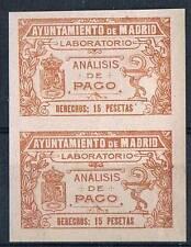 MADRID. NO CATALOGADO. 15 PTAS CASTAÑO
