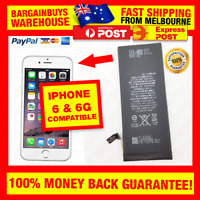 High Quality Replacement 1810mAh Battery for iPhone 6 6G  Replacement Repair