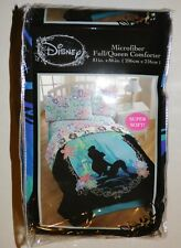 New Disney Little Mermaid Ariel In Silohouette Full/ Queen Comforter #18389