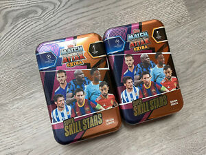 Lot Of 2: 2020-2021 TOPPS MATCH ATTAX EXTRA UEFA CHAMPIONS EUROPA LEAGUE *EMPTY*