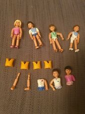Lego Belville figures and some Spares and life jackets see pictures