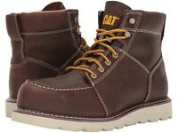 Caterpillar Men's Tradesman Steel Toe Leather Slip Resistant Lace Up Work Boots