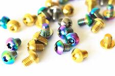 4x Titanium M5 x 8/12/15/16/18/20/25mm Half-Round Head Allen Key Screws