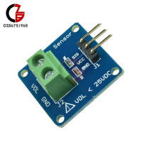 2Pcs Fit For Arduino DC Voltage Sensor Module Voltage Detector Divider Board