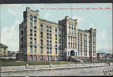 America Postcard - Dr Groves' Latter Day Saints Hospital, Salt Lake City E335