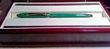 Cross Townsend  RARE lAPIS JADE Fountain Pen 18KT GOLD NIB  USA