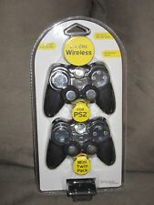 PSYCLONE WIRELESS TWIN PACK FOR PLAYSTATION 2 PS2 MODEL PSY9604 NEW SEALED RARE