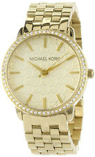 Michael Kors MK3120 Glitz Gold Tone Dial Gold Tone Stainless Steel Women's Watch