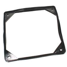 Silikon-Dichtung weicher Montage-Rahmen für Lüfter 120x120mm schwarz