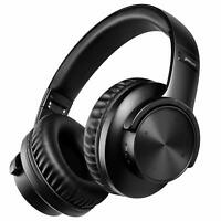 Bluetooth V5.0 Headphones 40H Playtime Wireless Over ear Headphone For phone PC