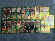 2016-17 PANINI DONRUSS SOCCER 19 CARD DOMINATORS INSERT LOT WITH HOLOS AND GOLDS