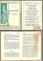 Libro i Dialoghi di Luciano (greco) - Signorelli 1956