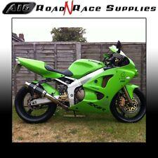 Kawasaki ZX6R 636 2002-2003 A1P A16 MOTO GP Stubby Carbon Exhaust & Baffle   p/o