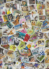 100 All Different 60c AUSTRALIAN stamps 2010 to 2014 Used