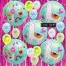 LLAMA SLIME Birthday Party Balloon Supplies APACA SAM cupcake Cake glue glitter