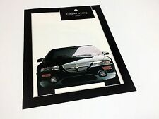1995 Chrysler Sebring Coupe LXi Preview Brochure