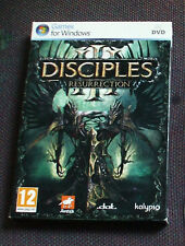 NEW SEALED Disciples III (3): The Resurrection for PC, DVD-ROM