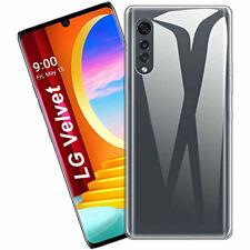 "Funda Carcasa Gel Silicona Transparente Clear Para LG Velvet (4G) (5G) 6.8"""