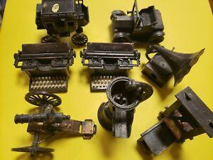 Vintage Mini Lot 28 Pencil Sharpener Typewriter,slot machine,clock,safe,car, ect